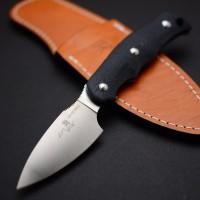 Туристический нож G.Sakai, Camper En Fixed / ZDP-189, Black G-10 - Интернет магазин Японских кухонных туристических ножей Vip Horeca