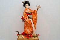 Кукла Гейша - Интернет магазин Японских кухонных туристических ножей Vip Horeca