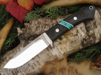 Нож Bark River Drop Point Hunter модель BCM Jade Malachite Space - Интернет магазин Японских кухонных туристических ножей Vip Horeca