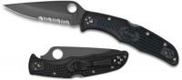 Складной нож Spyderco Endura 4, FRN Handle, Black Blade, Part Serrated - Интернет магазин Японских кухонных туристических ножей Vip Horeca