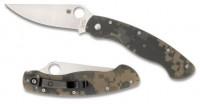 Складной нож Spyderco Military, G-10 Handle Digital Camo, Plain, CPM-S30V - Интернет магазин Японских кухонных туристических ножей Vip Horeca