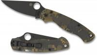 Складной нож Spyderco Para-Military, Black Blade, G-10 Handle Digital Camo, Plain, CPM-S30V - Интернет магазин Японских кухонных туристических ножей Vip Horeca