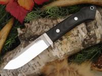 Нож Bark River Drop Point Hunter модель Black Canvas Micarta - Интернет магазин Японских кухонных туристических ножей Vip Horeca