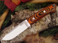 Нож Bark River Drop Point Hunter модель Tigerstripe G-10 - Интернет магазин Японских кухонных туристических ножей Vip Horeca