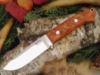 Нож Bark River Drop Point Hunter модель Amboynia Burl - Интернет магазин Японских кухонных туристических ножей Vip Horeca