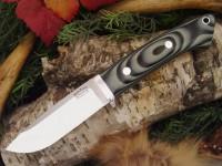 Нож Bark River Drop Point Hunter модель Midnite Tiger G-10 - Интернет магазин Японских кухонных туристических ножей Vip Horeca