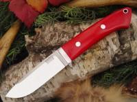 Нож Bark River Drop Point Hunter модель Red Linen Micarta - Интернет магазин Японских кухонных туристических ножей Vip Horeca