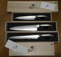 Набор кухонных ножей ECHIZEN Petty 150mm, Gyuto-210 - Интернет магазин Японских кухонных туристических ножей Vip Horeca