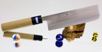 Кухонный нож Gihei-Hamono HAP-40 Nakiri 165mm - Интернет магазин Японских кухонных туристических ножей Vip Horeca