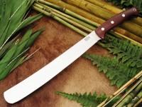 Нож Bark River Golok модель Maroon Linen Micarta - Интернет магазин Японских кухонных туристических ножей Vip Horeca