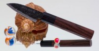 Кухонный нож HOCHO AS Takeda MiniPetty 100mm - Интернет магазин Японских кухонных туристических ножей Vip Horeca