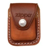 Кожаный чехол Zippo с клипом, модель LPCB - Интернет магазин Японских кухонных туристических ножей Vip Horeca