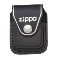 Кожаный чехол Zippo с клипом, модель LPCBK - Интернет магазин Японских кухонных туристических ножей Vip Horeca