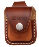 Кожаный чехол Zippo с петлёй, модель LPLB - Интернет магазин Японских кухонных туристических ножей Vip Horeca