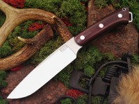 Нож Bark River Magnum Fox River модель Maroon Linen Micarta - Интернет магазин Японских кухонных туристических ножей Vip Horeca