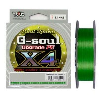 Плетеная леска YGK G-Soul X4 Upgrade PE 200m #0,4 (0.104 мм), 3.63кг - Интернет магазин Японских кухонных туристических ножей Vip Horeca