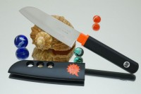 Кухонный нож Tojiro FK Santoku 105mm - Интернет магазин Японских кухонных туристических ножей Vip Horeca