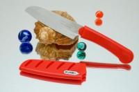 Кухонный нож Tojiro FK Santoku 95mm - Интернет магазин Японских кухонных туристических ножей Vip Horeca