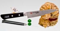 Кухонный нож Fujiwara Kanefusa FKM Petty 150mm - Интернет магазин Японских кухонных туристических ножей Vip Horeca