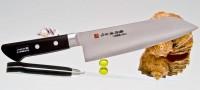 Кухонный нож Fujiwara Kanefusa FKM Santoku 180mm - Интернет магазин Японских кухонных туристических ножей Vip Horeca
