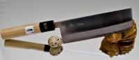 Кухонный нож Fujiwara Kanefusa FKV Nakiri 165mm - Интернет магазин Японских кухонных туристических ножей Vip Horeca