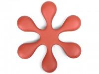 Чугунная подставка IWACHU под чайник 18,5см. (цветок, красный) - Интернет магазин Японских кухонных туристических ножей Vip Horeca