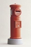 Копилка, чугунная, IWACHU, Почтовый ящик (красный) - Интернет магазин Японских кухонных туристических ножей Vip Horeca