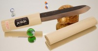 Makiri черный 135mm - Интернет магазин Японских кухонных туристических ножей Vip Horeca