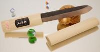 Makiri  черный 150mm - Интернет магазин Японских кухонных туристических ножей Vip Horeca