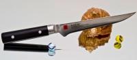 Кухонный нож Kasumi Damasc Boning 160mm - Интернет магазин Японских кухонных туристических ножей Vip Horeca