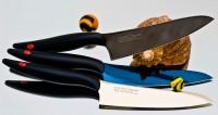Кухонный нож Kasumi Titan Gyuto 130mm - Интернет магазин Японских кухонных туристических ножей Vip Horeca
