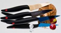 Кухонный нож Kasumi Titan Paring 80mm - Интернет магазин Японских кухонных туристических ножей Vip Horeca