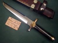 Нож Katsumi Kitano Boots Bowie - Интернет магазин Японских кухонных туристических ножей Vip Horeca