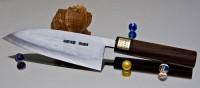 Кухонный нож Moritaka AS Damaskus Deba 180mm - Интернет магазин Японских кухонных туристических ножей Vip Horeca