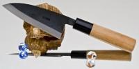 Кухонный нож Moritaka A2 Standard Kodeba 110mm - Интернет магазин Японских кухонных туристических ножей Vip Horeca