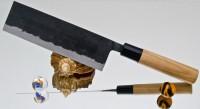 Кухонный нож Moritaka A2 Standard Nakiri 135mm - Интернет магазин Японских кухонных туристических ножей Vip Horeca