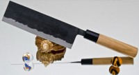 Кухонный нож Moritaka A2 Standard Nakiri 180mm - Интернет магазин Японских кухонных туристических ножей Vip Horeca