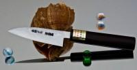Кухонный нож Moritaka AS Damaskus Paring 90mm - Интернет магазин Японских кухонных туристических ножей Vip Horeca