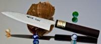 Кухонный нож Moritaka AS Damaskus Petty 130mm - Интернет магазин Японских кухонных туристических ножей Vip Horeca