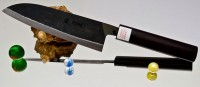 Кухонный нож Moritaka A2 Santoku 170mm - Интернет магазин Японских кухонных туристических ножей Vip Horeca