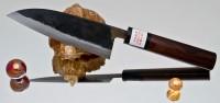 Кухонный нож Moritaka A2 Small Santoku 130mm - Интернет магазин Японских кухонных туристических ножей Vip Horeca