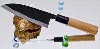 Кухонный нож Moritaka A2 Standard Small Santoku 130mm - Интернет магазин Японских кухонных туристических ножей Vip Horeca