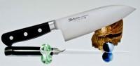 Кухонный нож Misono Molibden Steel Deba 240mm - Интернет магазин Японских кухонных туристических ножей Vip Horeca