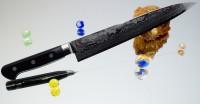 Кухонный нож RYUSEN Bonten-Unryu Sujihiki 240mm - Интернет магазин Японских кухонных туристических ножей Vip Horeca
