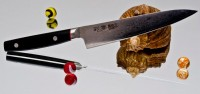 Кухонный нож Kanetsugu Saiun Petty 120mm - Интернет магазин Японских кухонных туристических ножей Vip Horeca