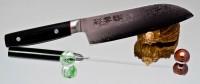 Кухонный нож Kanetsugu Saiun Santoku 170mm - Интернет магазин Японских кухонных туристических ножей Vip Horeca