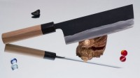 Кухонный нож Shigefusa Nakiri 170mm (Kurouchi) - Интернет магазин Японских кухонных туристических ножей Vip Horeca