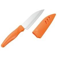 Кухонный нож Shimomura Paring 95mm (с пластиковым чехлом) - Интернет магазин Японских кухонных туристических ножей Vip Horeca