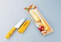 Кухонный нож Shimomura Santoku 105mm (с пластиковым чехлом) - Интернет магазин Японских кухонных туристических ножей Vip Horeca