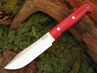 Нож Bark River Special Hunting модель Red Linen Micarta - Интернет магазин Японских кухонных туристических ножей Vip Horeca